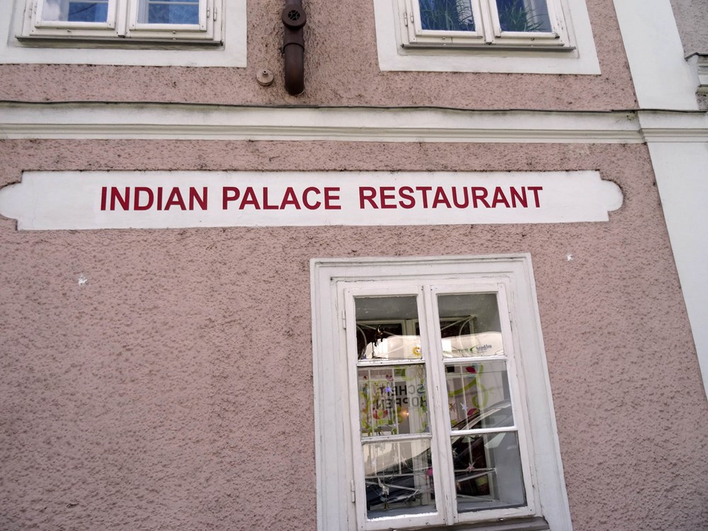Restaurant: Indian Palace